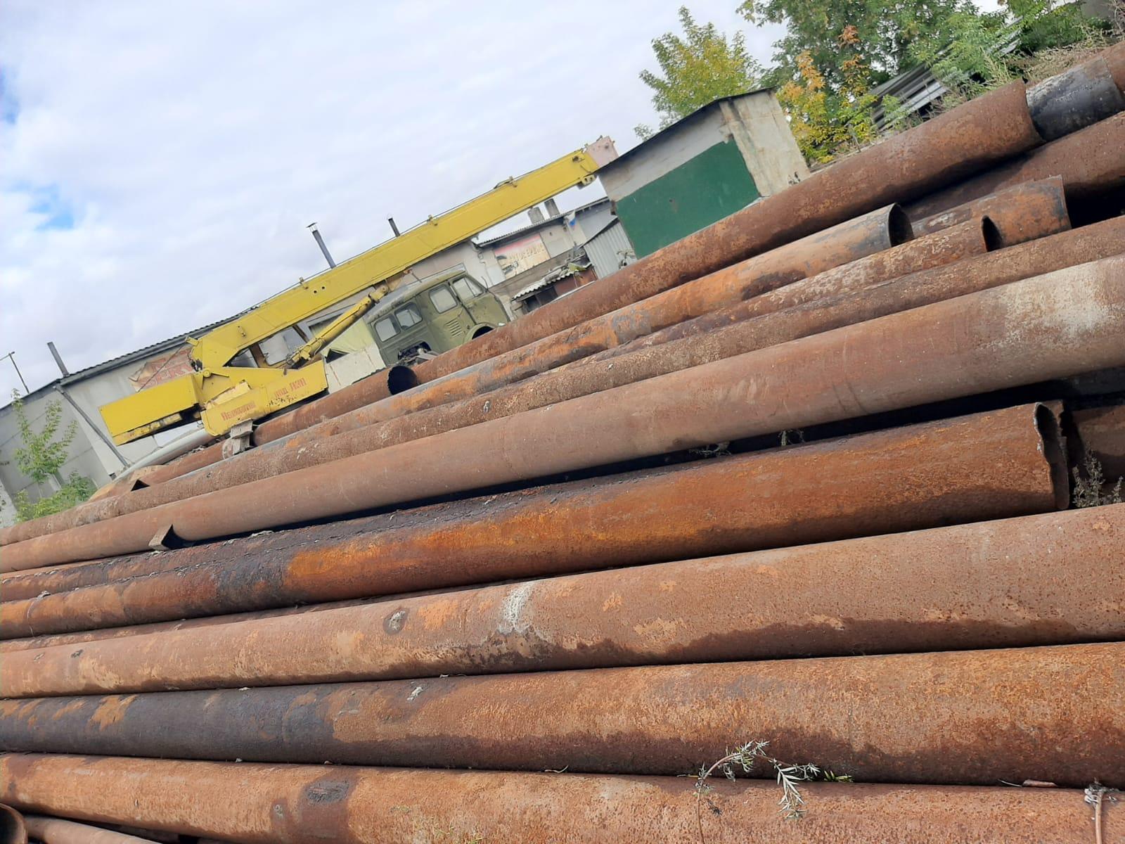 Трубы бу 273 в Новосибирске
