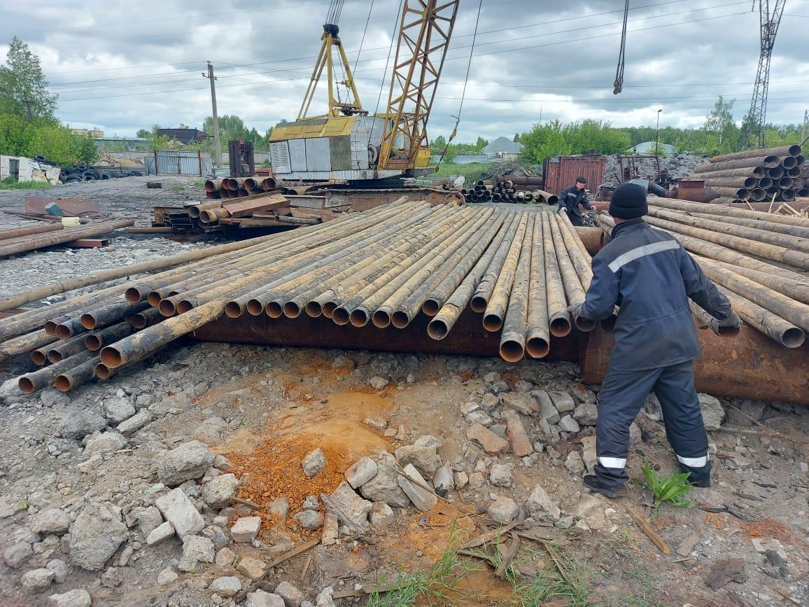 Трубы бу 114 стальные в Новосибирске